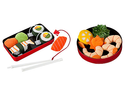 Giveaway! Delicious Sushi Cat Toys from Target