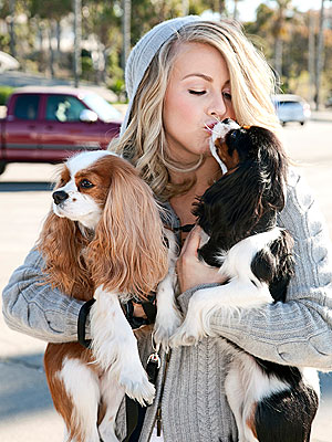 Julianne Hough's Dogs: Just Chillin'| Stars and Pets, Dogs, Julianne Hough