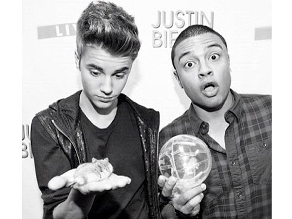 Justin Bieber Has a Tour Hamster| Stars and Pets, Justin Bieber