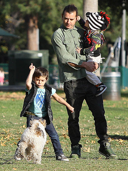 GAVIN ROSSDALE photo | Gavin Rossdale, Kingston Rossdale, Zuma Rossdale