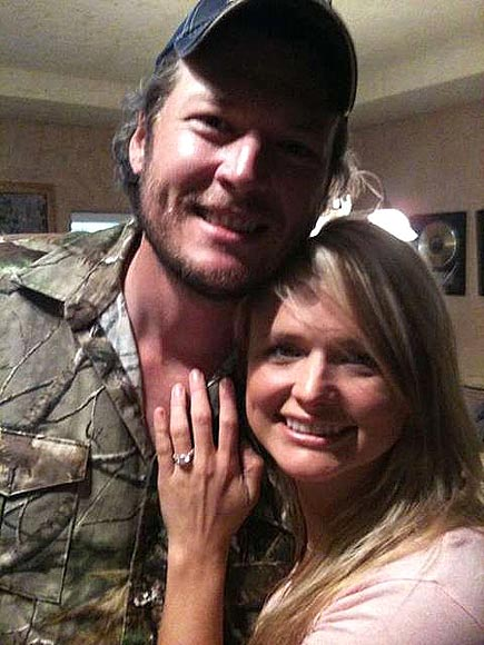 What were Miranda Lambert and Blake Shelton's favorite engagement gifts? | Blake Shelton, Miranda Lambert