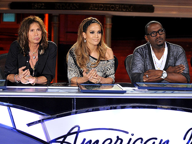 Which former contestant provided Jennifer Lopez with her
