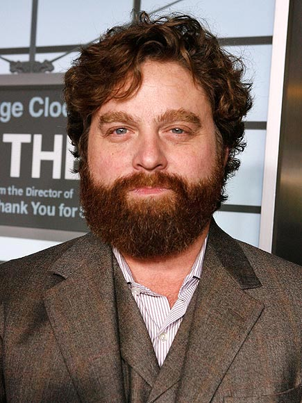 What hasn't Zach Galifianakis done to honor his famous beard?