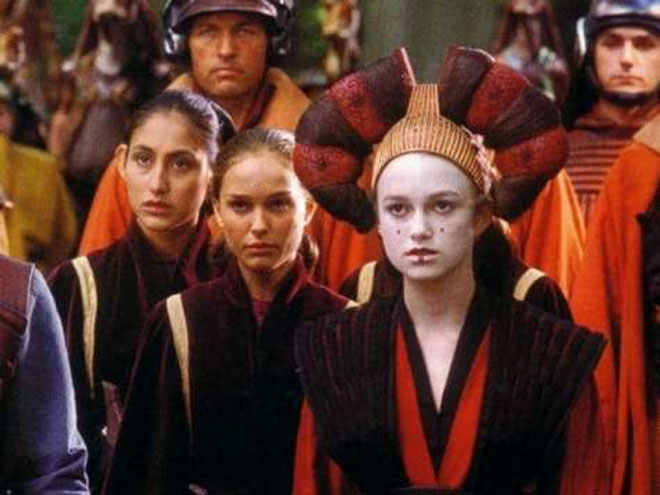 star wars natalie portman and keira. decoy in Star Wars?