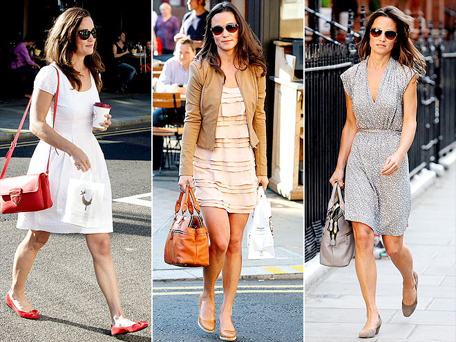 PIPPA: MATCHING BAGS TO SHOES   photo | Pippa Middleton