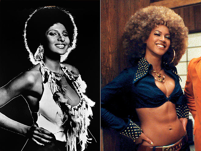 BEYONCÉ AS PAM   photo | Beyonce Knowles, Pam Grier