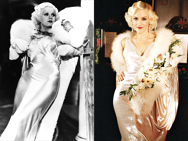 GWEN AS JEAN   photo | Gwen Stefani, Jean Harlow