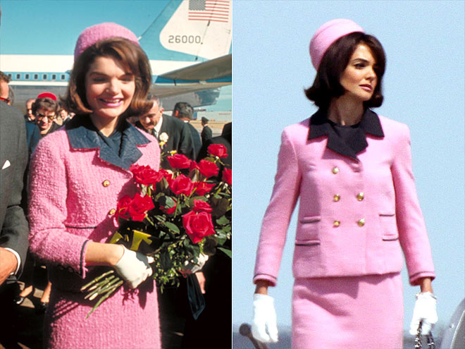 KATIE AS JACKIE   photo | Jacqueline Kennedy Onassis, Katie Holmes