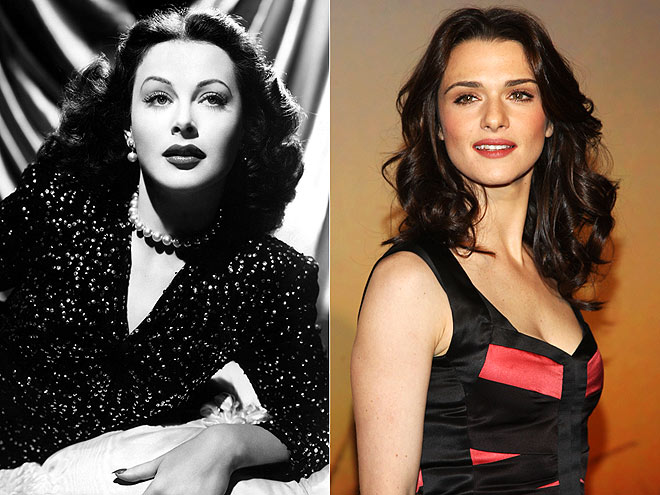 RACHEL AS HEDY   photo | Hedy Lamarr, Rachel Weisz