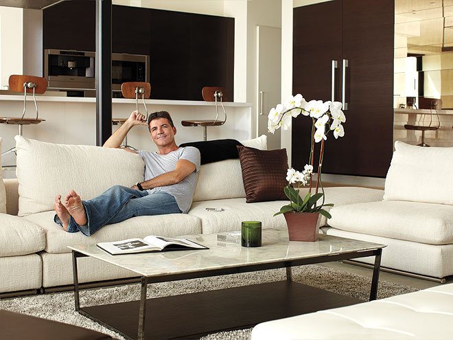 SIMON'S LIVING ROOM photo | Simon Cowell
