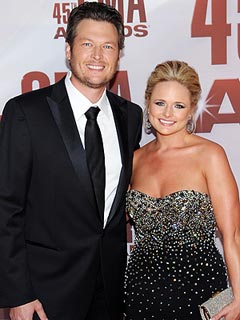 Newlyweds Blake & Miranda Take Home His and Hers CMA Awards | Blake Shelton, Miranda Lambert