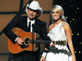 Carrie & Brad Tease Country Royalty, Kim Kardashian – And More | Brad Paisley, Carrie Underwood