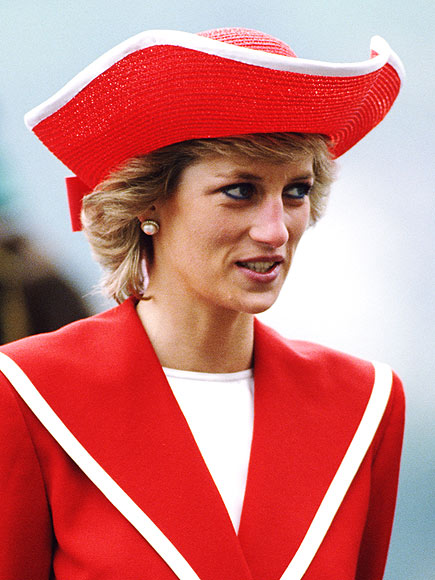 SEEING RED photo | Princess Diana