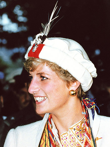 WHITE CAP photo | Princess Diana