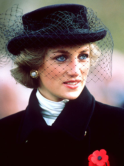 BLACK VEIL photo | Princess Diana
