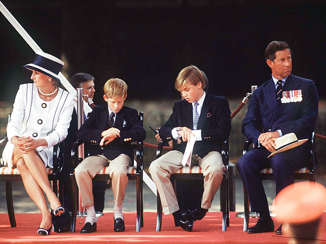 Time to Go Yet? photo | Prince Charles, Prince Harry, Prince William, Princess Diana
