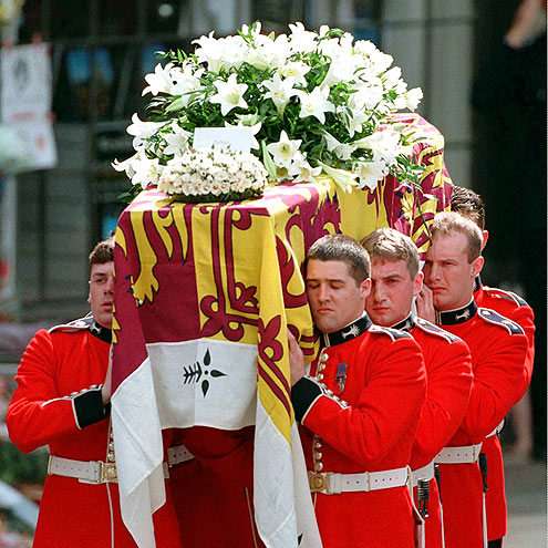 A Sad Goodbye photo | Princess Diana