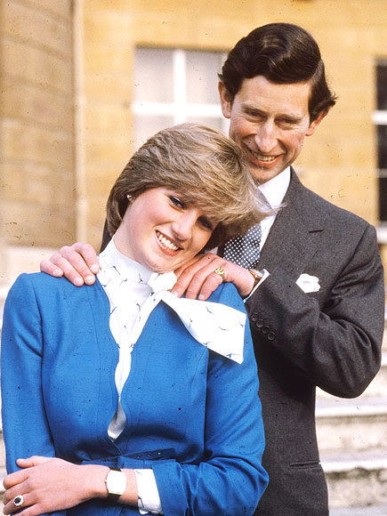 The Royal Engagement photo | Prince Charles, Princess Diana