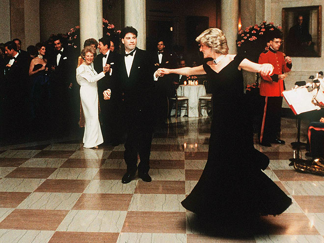 A Full Dancing Card photo | John Travolta, Princess Diana