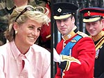 Diana&#39;s Boys: William & Harry Now | Prince Harry, Princess Diana