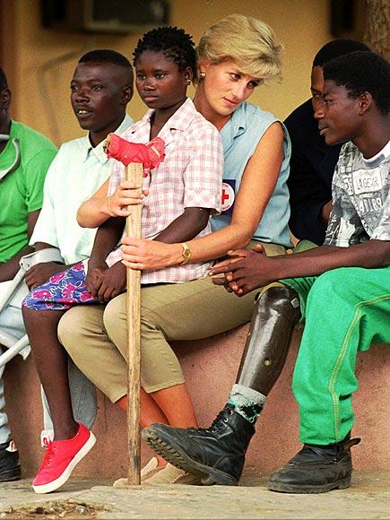 princesa Diana Gales Wales princess Angola