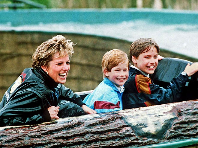 SPLASH MOUNTAIN  photo | Prince Harry, Prince William, Princess Diana