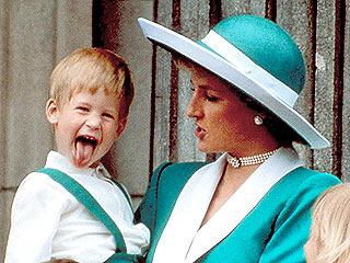 Diana and Her Sons | Prince Harry, Prince William, Princess Diana