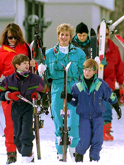 LET IT SNOW  photo | Prince Harry, Princess Diana