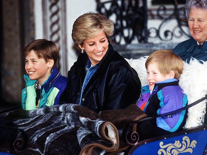 A REGAL CARRIAGE  photo | Prince Harry, Prince William, Princess Diana