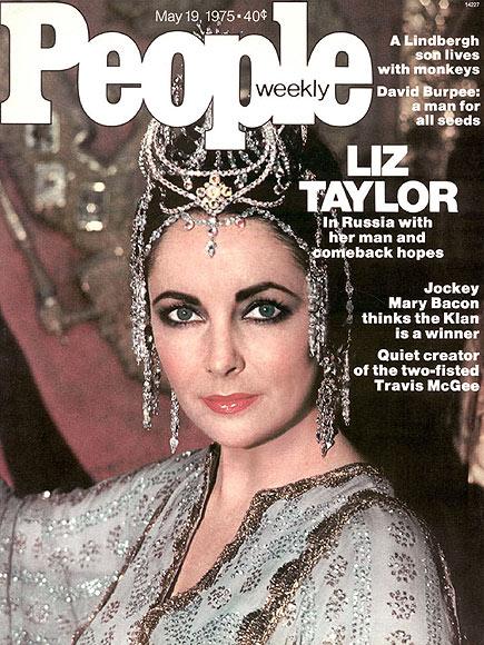 1975: TO RUSSIA WITH LOVE  photo | Elizabeth Taylor Cover, Elizabeth Taylor