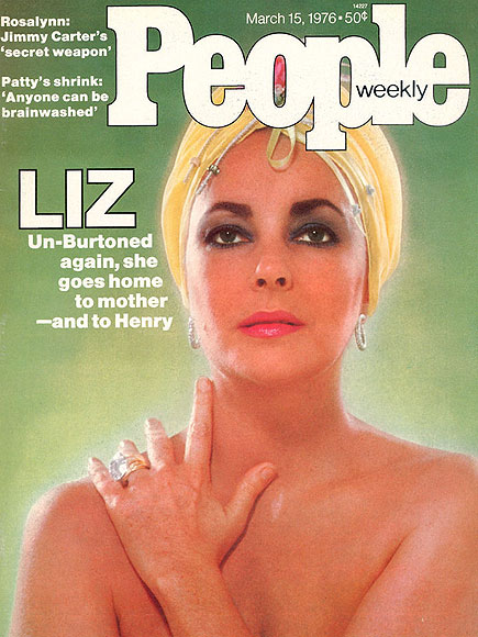 1976: LIZ UN-BURTONED AGAIN