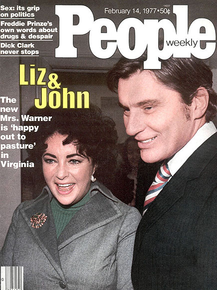 1977: WORKING WITH HUBBY  photo | John Warner Cover, Elizabeth Taylor, John Warner