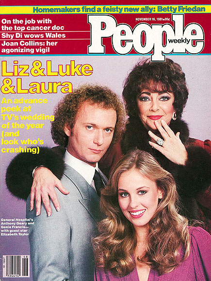 1981: LIZ, LUKE & LAURA!