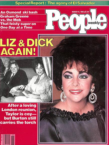 1982: TWO OLD FLAMES SMOLDER AGAIN  photo | Elizabeth Taylor Cover, Richard Burton Cover, Elizabeth Taylor, Richard Burton