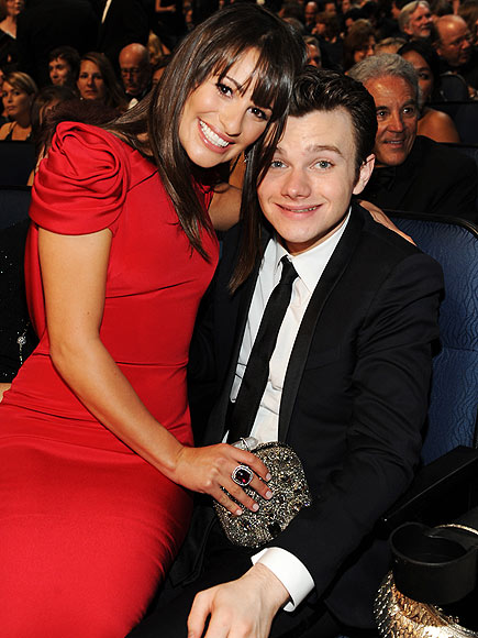 ALL LOVE photo | Chris Colfer, Lea Michele
