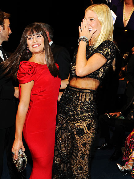 LEA & GWYNETH photo | Gwyneth Paltrow, Lea Michele