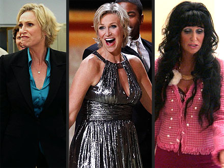 Emmys: Jane Lynch Best Quotes - Was She a Good Host?