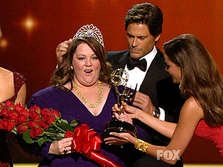 Melissa McCarthy Wins Emmy's First 'Best Pageant Ever' | Melissa McCarthy