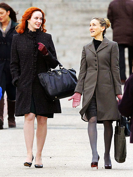 CHRISTINA HENDRICKS photo | Christina Hendricks, Sarah Jessica Parker