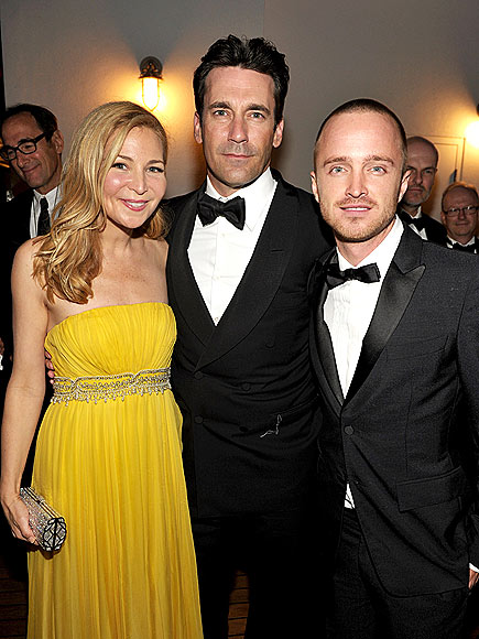 JENNIFER WESTFELDT, JON HAMM & AARON PAUL photo | Aaron Paul, Jennifer Westfeldt, Jon Hamm