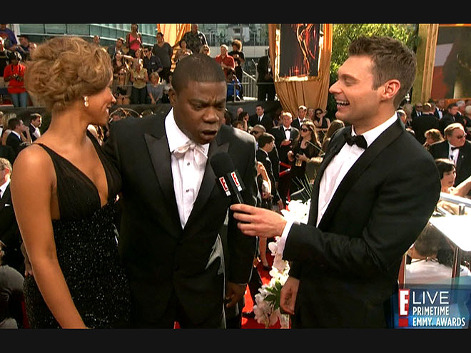  photo | Ryan Seacrest, Tracy Morgan