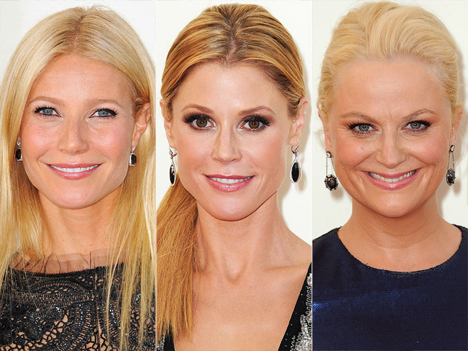 BLACK EARRINGS photo | Amy Poehler, Gwyneth Paltrow, Julie Bowen