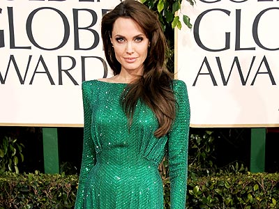 Best Dressed atthe Golden Globes! | Angelina Jolie