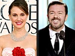 Best & Worst of the 2011 Golden Globes | Natalie Portman, Ricky Gervais