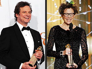Social Network, Kids Are All Right Win Big Movie Awards at Globes | Annette Bening, Colin Firth