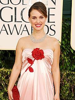 Golden Globe Winner Natalie Portman Shows Off Her Baby Bump | Natalie Portman