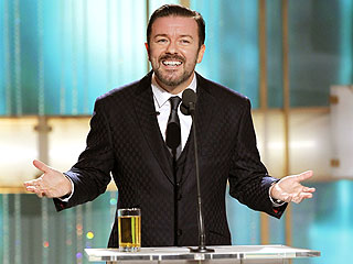 Golden Globes: Ricky Gervais 'Occasionally Went Too Far'