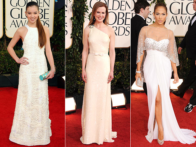 Hailee Steinfeld in Prabal Gurung, Nicole Kidman in Prada and Jennifer Lopez in Zuhair Murad
