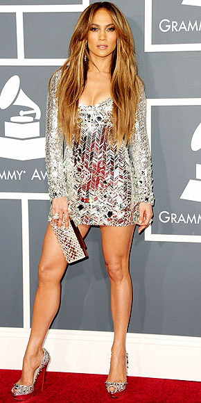 jennifer lopez 2011 grammys dress. JENNIFER LOPEZ photo