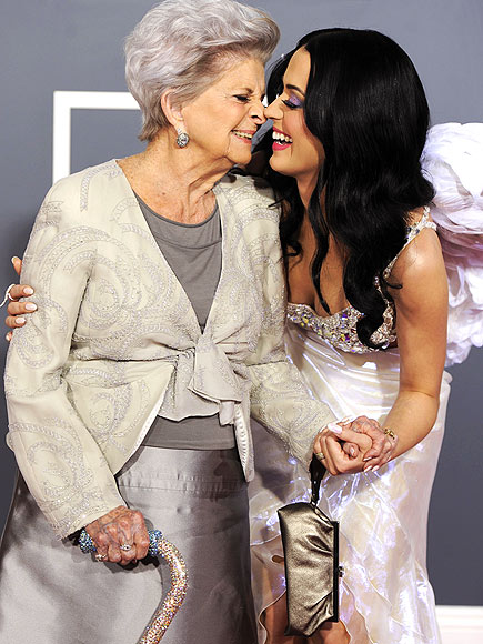KATY & GRANDMA photo | Katy Perry